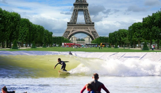 Du surf à Paris – le projet d'un futur complexe parisien