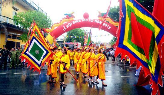La fête de Tra Co se déroule du 30 mai au 3 juin chaque année