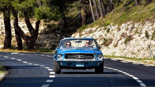 les Alpilles peuvent se découvrir en voiture