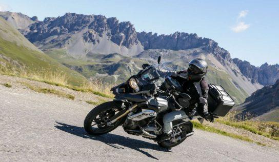 Cols du Lautaret et du Galibier à moto