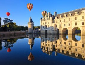 Survoler les châteaux de la Loire en Montgolfière
