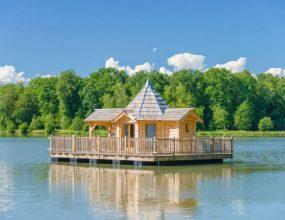 Cabanes sur l'eau et maisons sur l'eau en France