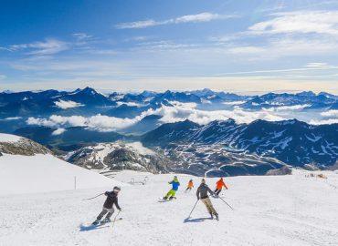ski au vacances de la Toussaint