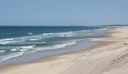 Encore quelques heures de liberté sur les plages des Landes