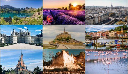 Top 5 des endroits à voir en France