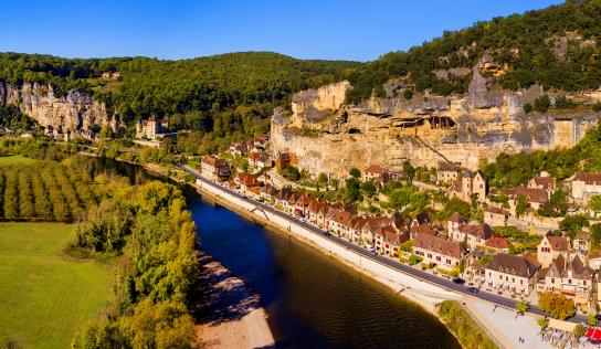 La Roque-Gageac, un bijou bercé par la Dordogne