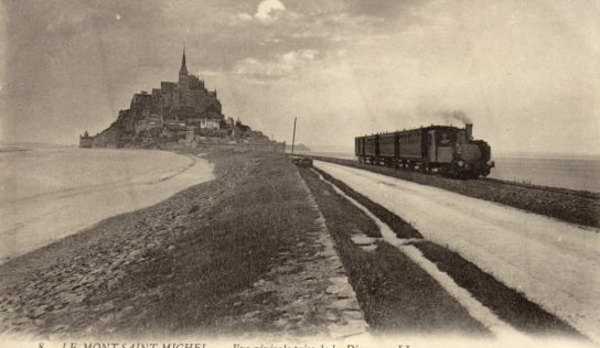 A la découverte du nouveau train du Mont-Saint-Michel