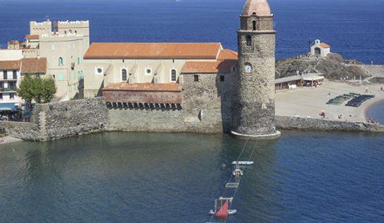 Grand chantier de rénovation pour l'église et son clocher, à Collioure