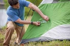 Comment réparer une déchirure de tente